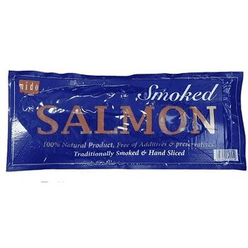 Smoked Salmon Slices Skin Off by Mido's