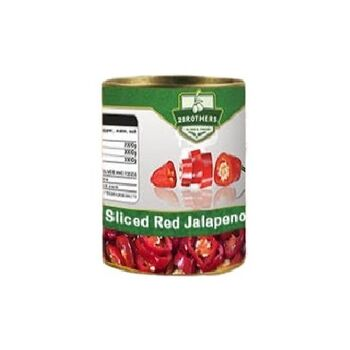 Sliced Red Jalapeno by Two Brothers Co.