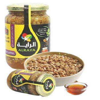 Al Raya Natural Bee Honey in Oatmeal and Wheat Germ by Al Rabwa