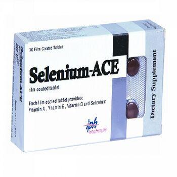 Selenium ACE Tablets Antioxidants by Interpharma UK