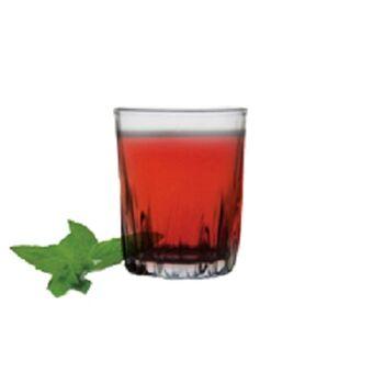 Royal Glass Susana tea tumblers by Techno Glass