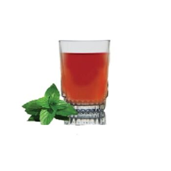 Royal Glass Sansia Tea Tumblers by Techno Glass