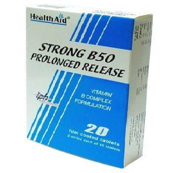 Strong B50 Prolonged Release Tablets Antioxidants by Interpharma UK