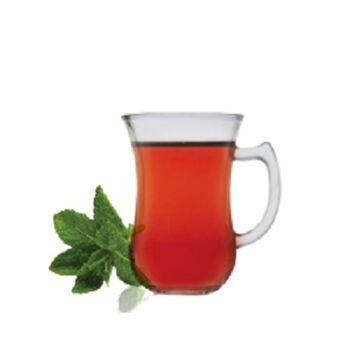 Royal Glass Istanbul Tea Mugs by Techno Glass