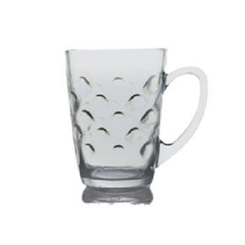 Royal Glass Rawan Tea Mugs by Techno Glass