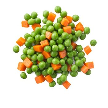 Frozen MixedCarrots & Peas by Nour For Food