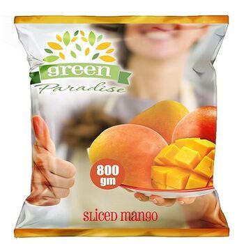 Frozen Sliced Mango by Green Paradise