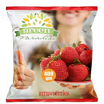 Frozen strawberries by Green Paradise
