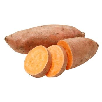 Fresh Sweet potatoes by Zamel