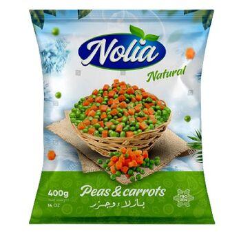 Nolia Frozen Mixed Carrots & Green Peas by Snow Fresh