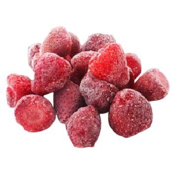 Frozen Strawberries by Zamel