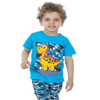 All CottonZ Dinosaur Summer Pajama Setby Resi Trade