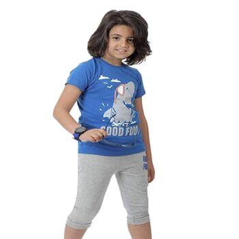 All CottonZ Shark Boy Summer Pajama by Resi Trade