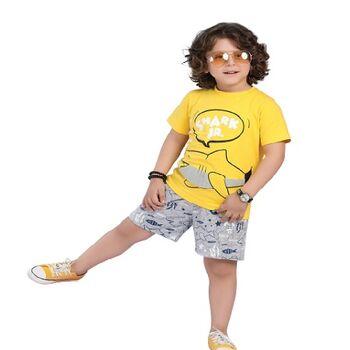 All CottonZ Shark Jr Summer Pajama Setby Resi Trade